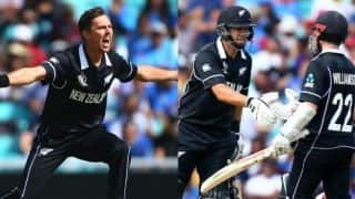 ICC World Cup 2019 warm-up: Boult, Williamson, Taylor star as New Zealand beat India